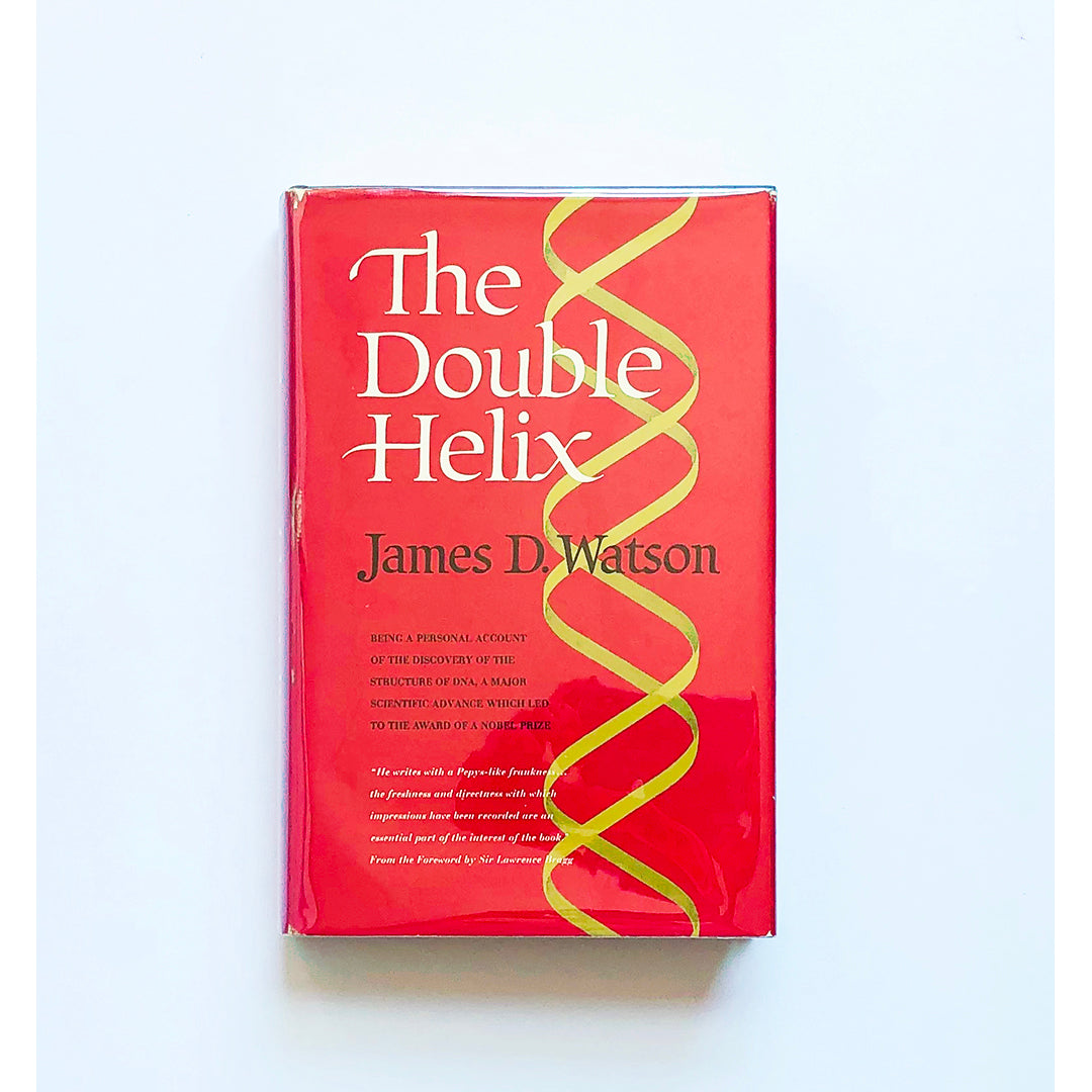 The Double Helix ; A personal account of the discovery of the structure of the DNA by James D. Watson