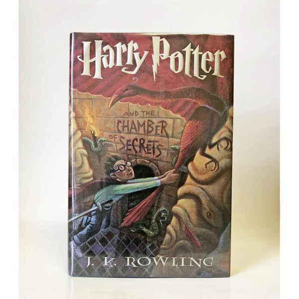 Harry Potter and the Chamber of Secrets by J.K. Rowling ; Illustrations by Mary Grandpre