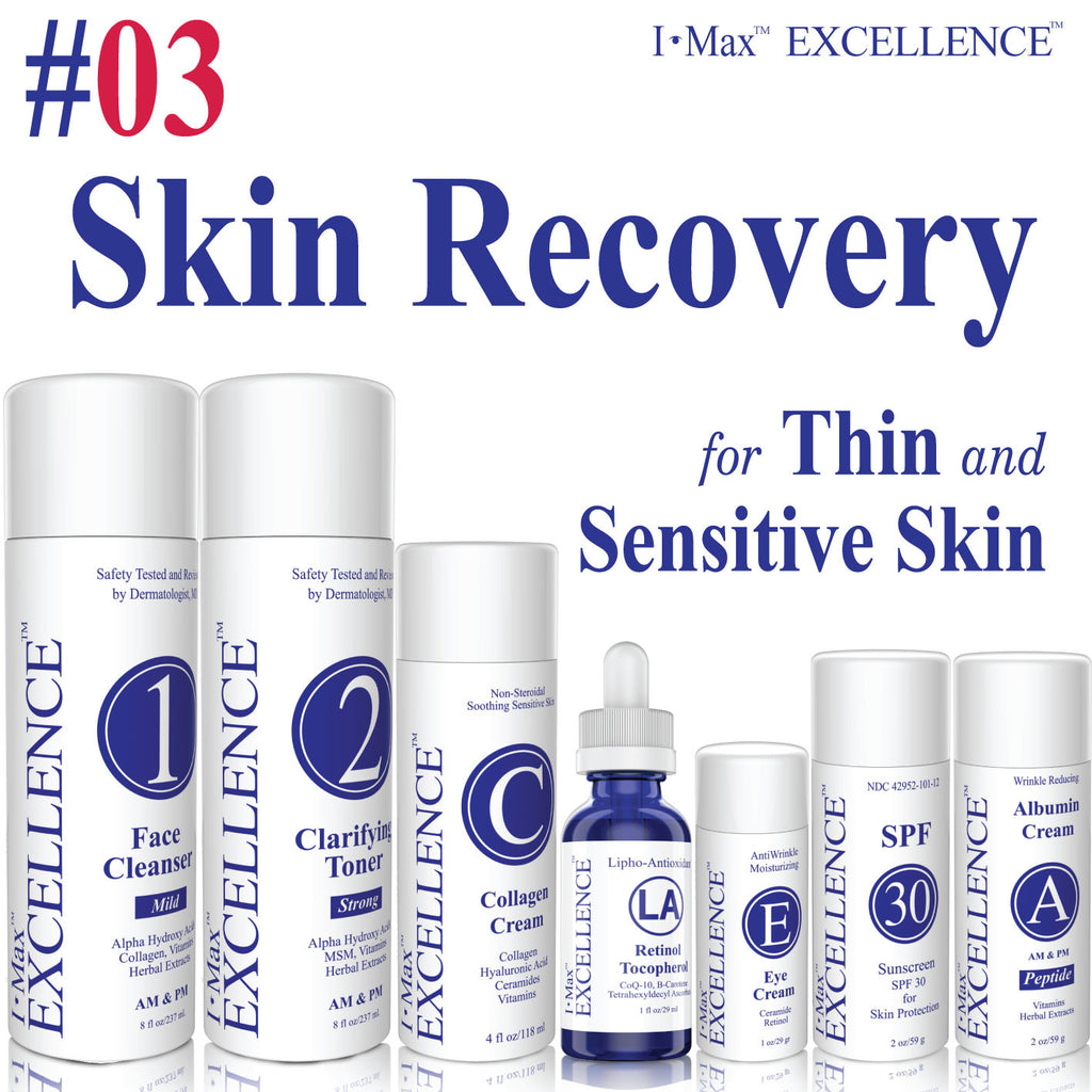Is I Max EXCELLENCE #03 Skin Recovery Set good for Thickening and Younger Skin?