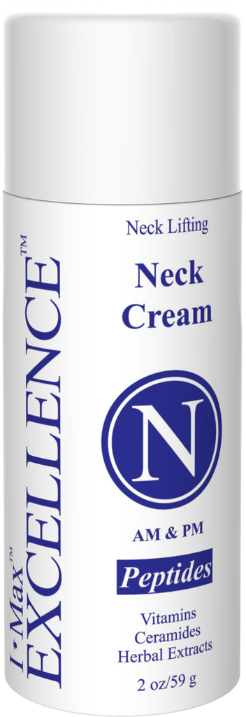 What makes I Max EXCELLENCE #N Neck Cream 2 Oz Specialized in Lifting Neck Skin and reducing the Wrinkles?