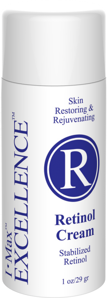 Does  I Max EXCELLENCE #R Retinol Cream 1 Oz really work as an Antiageing?