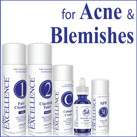 I Max EXCELLENCE #07 Set for Treating Acne, Blemishes, Removing Acne Scars, Lesions  and Reducing Enlarged Pores.