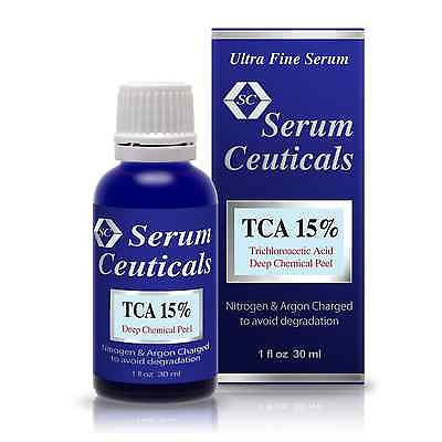 TCA 15%, 30%, 45%, 60% & 75% Trichloroacetic Acid Serum-Deep Chemical Peel.