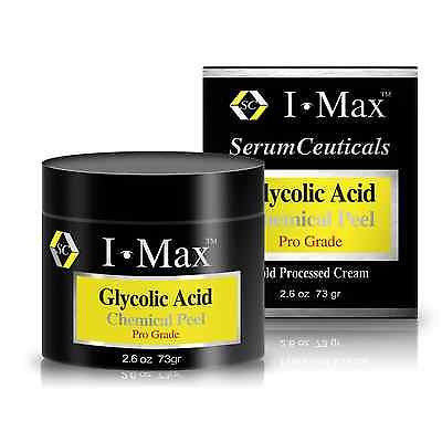Glycolic Acid-Chemical Peel Cream for Rejuvenating and Lightening Skin