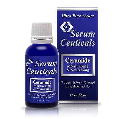 Ceramides Serum for Reducing Wrinkles, Moisturizing and Nourishing Skin.