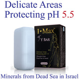 I Max Y Bar for Feminine Hygiene Soap Bar-the best pH 5.5 for the sensitive area.