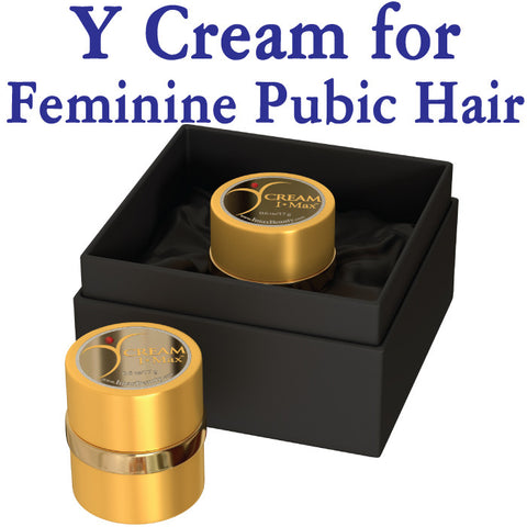 I Max Y Cream for Feminine Pubic Hair Regrowth and Thriveness