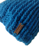 Chunky Knit Hat Ocean Blue - Smitten Kitten Originals Knits - 4