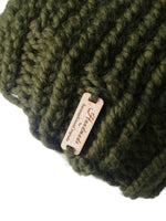 Chunky Knit Hat Moss Green - Smitten Kitten Originals Knits - 4