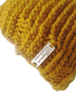 Chunky Knit Hat Golden Yellow - Smitten Kitten Originals Knits - 4
