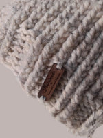 Chunky Knit Hat Oatmeal Heather - Smitten Kitten Originals Knits - 4