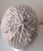 Chunky Knit Hat Oatmeal Heather - Smitten Kitten Originals Knits - 3