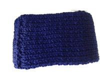 Chunky Knit Scarf Navy Blue - Smitten Kitten Originals Knits - 4