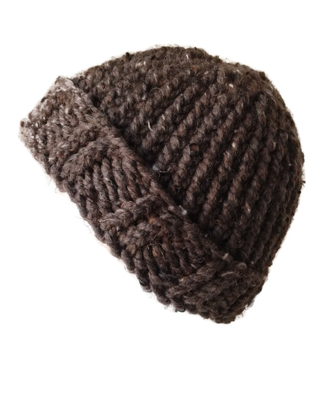 Chunky Knit Hat Barley - Smitten Kitten Originals Knits - 1