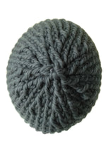 Merino Wool Chunky Knit Hat Grey - Smitten Kitten Originals Knits - 2