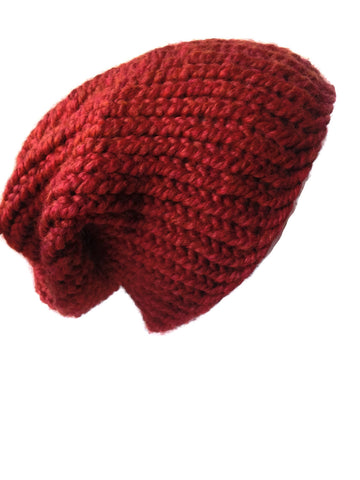 Chunky Knit Slouch Hat Pumpkin Spice
