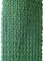 Merino Wool Knit Scarf Fern Green