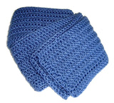 Dusky Denim Blue Scarf - Smitten Kitten Originals Knits - 5