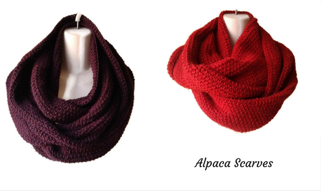 luxury alpaca scarves