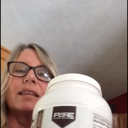 This Mother / Grandmother LOVES Pure Label Nutrition's Grass Fed Whey Chocolate - Review