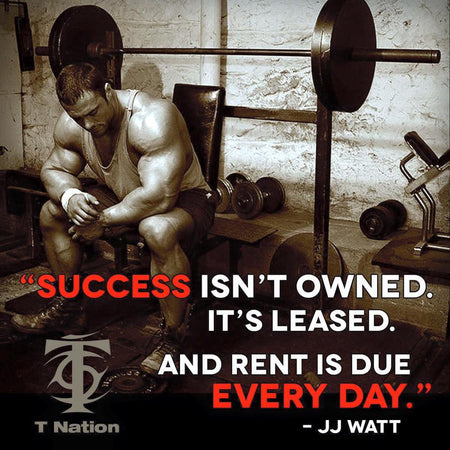 SUCCESS ISN'T OWNED...