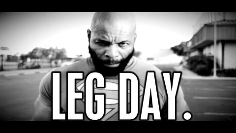 leg workout, leg training, leg day