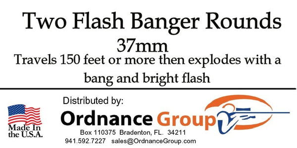 37mm Flash Banger<br> 2 Round Package or 10 Rounds Bulk