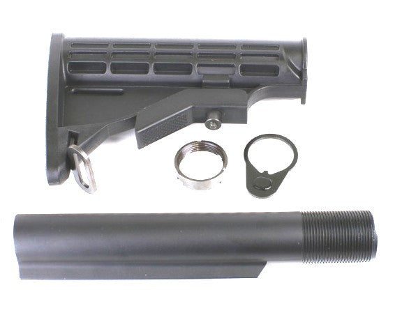 Stock AR Compatible 6 Position Tactical