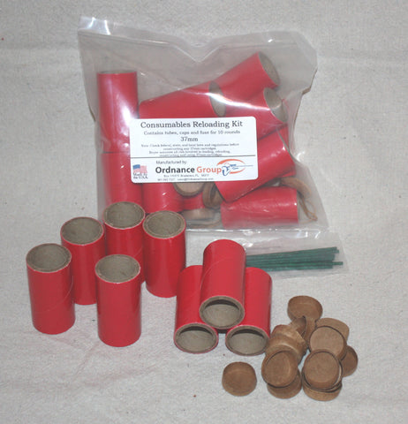 37mm Reloading Kit<br>No hulls or HazMat components