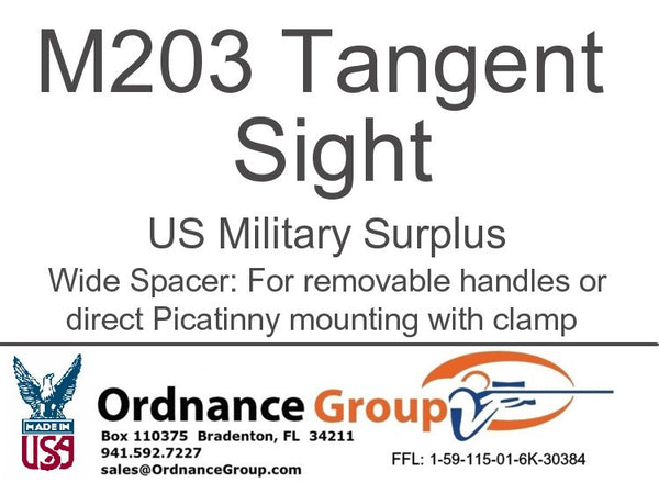 Quadrant Sight for 37/40mm Launchers Mil Surp M203