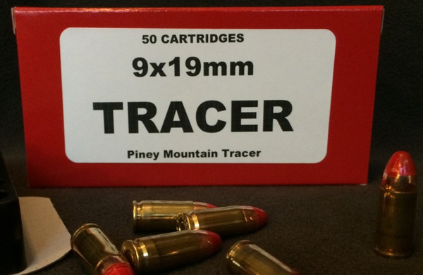 9mm Tracers - Red and Green 50rd. Box