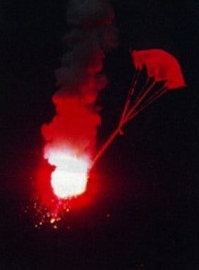 37mm Red Parachute Flares USCG Approved!