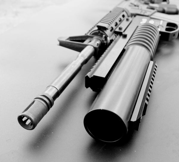 Tac-m203 37mm Underbarrel Launcher