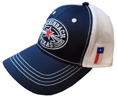 CAP: RED WHITE BLUE