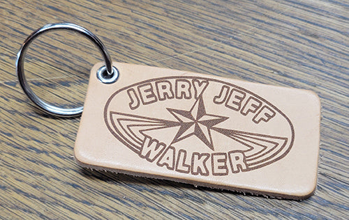 JJW Leather Key Tag