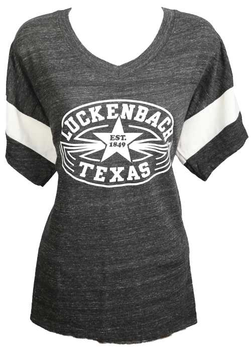 Ladies Black Sport Shortsleeve