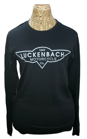 Longsleeve Motorcycle Black