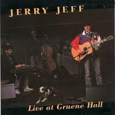 CD - LIVE AT GRUENE HALL