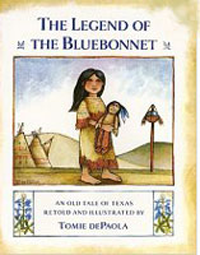 Book: Legend of The Bluebonnet