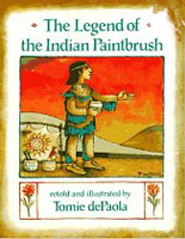 Book: Legend Of The Indian Paintbrush