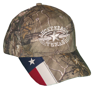 Cap Texas Flag Camo