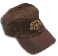 Cap Oiled Canvas - Brown