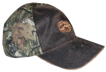 Cap Oiled Canvas Camo