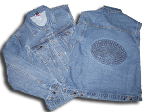 Denim Jacket Embossed - Mens