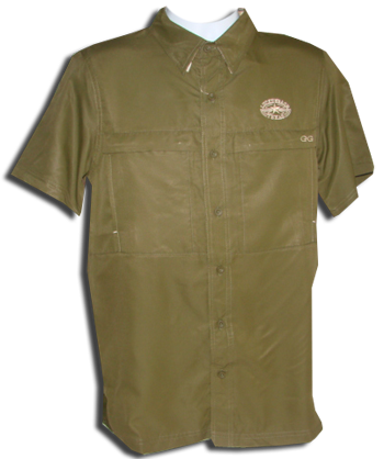 Fishing Shirt-Microfibre - Olive