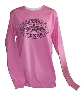 Longsleeve Pink & Brown Tee