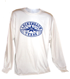 Longsleeve White/Blue