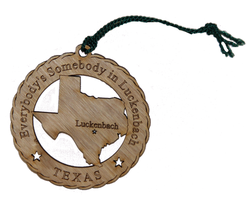 A Luckenbach Christmas Ornaments