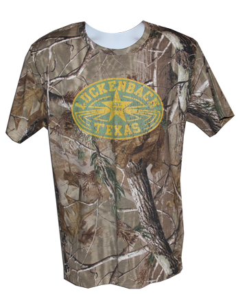 Long Sleeve Camo Realtree Tee