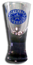 Shot Glass Clear Spirit